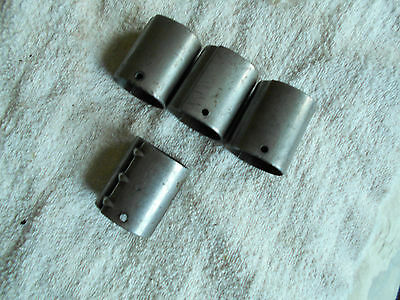 WW2 german marked K98 8mm mauser rifle parts late war solid milled front band