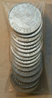 Sunoco/DX Antique Car Coins. Pre-owned.