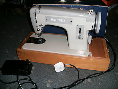 Vintage Merritt Singer  Semi Industrial Sewing Machine - will sew leather