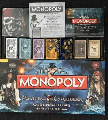 Monopoly - Pirates of the Caribbean on Stranger Tides Collector's Edition