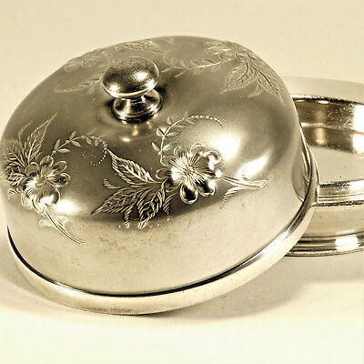 Wilcox Silver Plate Co Silverplate Covered Butter Dish Model 3244 – c1930
