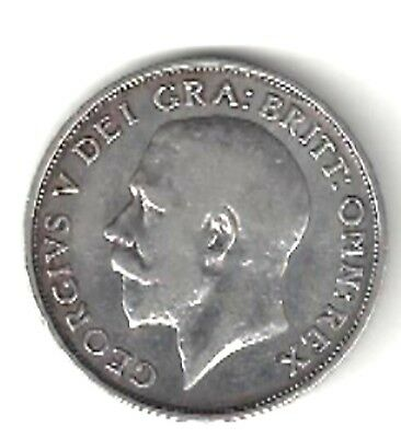 Great Britain - Shilling, 1911, First Year Of Reign Of George V - Silver(.925)