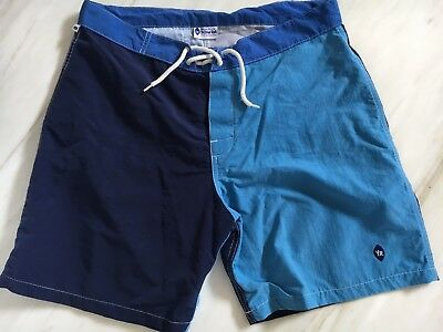 Vintage Surfing Shorts by Yellow Rat, Circa 2003. Men's Size 34.