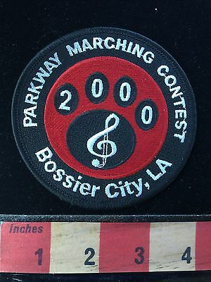 Bossier City Louisiana Patch 2000 Parkway Marching Contest Band Music Note 66WI