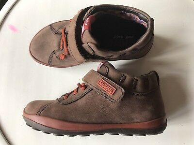 Camper Kid's Children's Boys Shoes New Leather 28