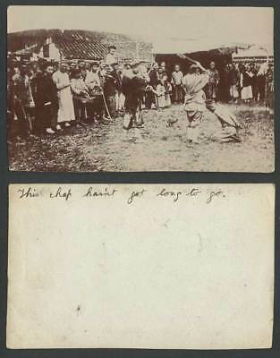 China Old Real Photo Chinese Pirate Public Execution, Chap Hasn't Got Long to Go
