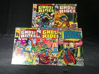 Lot Of 5 Ghost Rider Comic Books #36 #37 #38 #39 #40