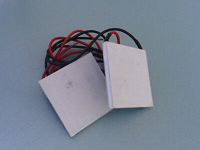 Thermoelectric Heat Cooler Peltier Plate 12V 60W TEC1-12706 - Pair