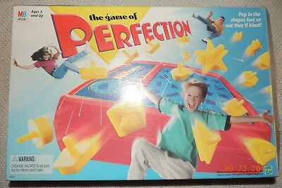 Perfection Board Game 2006 Or 1995 Milton Bradley 100% Complete!!