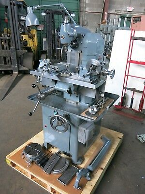 Aciera F3 Universal Milling Machine Swiss Made with Attachments