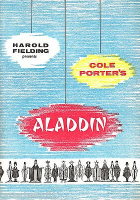 "Cole Porter ""ALADDIN"" Bob Monkhouse / Doretta Morrow '59 London Souvenir Program"