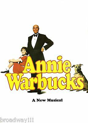 "Charles Strouse ""ANNIE WARBUCKS"" Harve Presnell 1992 Tryout Souvenir Program"