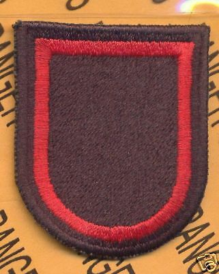 4th SOCCE Spec Ops Airborne SOCOM beret Flash patch