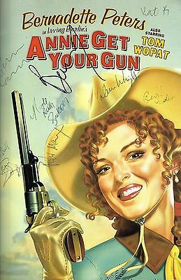 "Bernadette Peters (Signed) ""ANNIE GET YOUR GUN"" 1999 Broadway Souvenir Program"