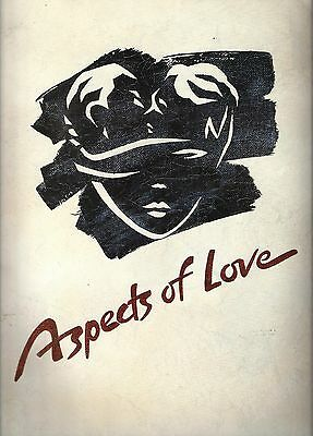 "Michael Ball ""ASPECTS OF LOVE"" Andrew Lloyd Webber / Ann Crumb 1990 Program"