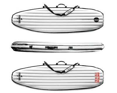 Soma Boardbag DOUBLE travel Funboard 7'6 Surfboard Bag Boardbag flugtauglich fcs