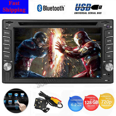 "6.2"" Apple Car Play Smartphone Receiver Bluetooth Car Stereo MP5 Player USB SD"