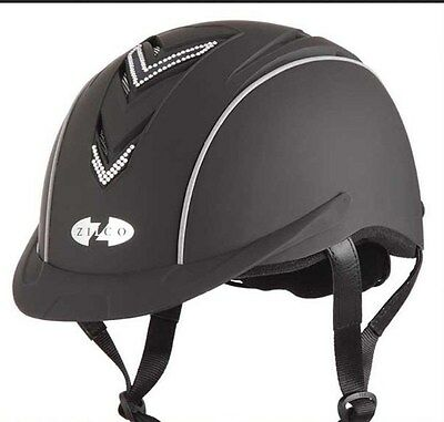 Oscar Bling, Zilco riding helmet suit size 52-56cms