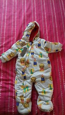 Boys Joules pramsuit 6-9 months bnwt