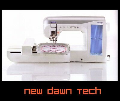 Brother Innovis 4000D Embroidery Machine Package ( Innov-is ) +FREE SONY Netbook