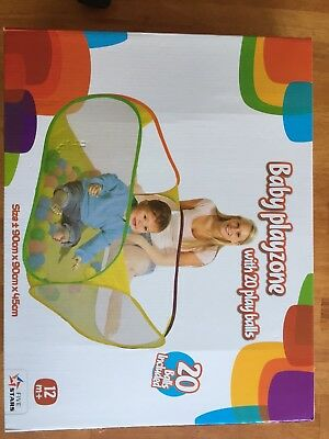Infant indoor ball pit