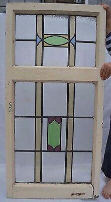 Art deco leaded light stained glass window. R584a. WORLDWIDE DELIVERY!!!