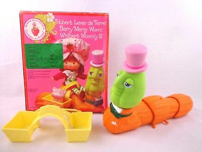 Vintage Berry Merry Worm Strawberry Shortcake Prototype Palitoy Kenner 1984 Rare