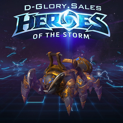Mechanospider Mount - Heroes of the Storm (Region FREE)