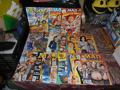 MAD COMICS x 20 AUSTRALIAN ISSUES IN AWESOME CONDITION & COMPLETE.