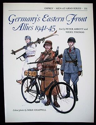 Osprey Men-At Arms-Series  Band 131 : Germany`s Eastern Front Allies 1941-45