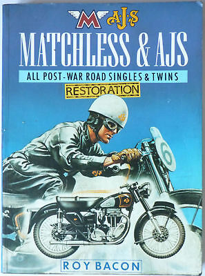Matchless & AJS Restoration - All Post War Road Singles and Twins by Roy Bacon