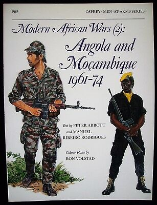 Osprey:  Men-At Arms-Series Nr. 202 : Modern African Wars (2) Angola/Mosambique