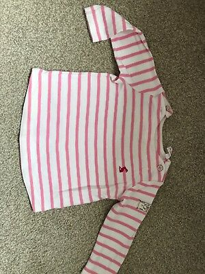 Baby Girls Joules Stripe Top 6-9 Months