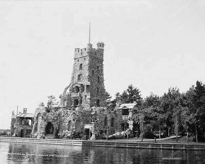 1000 Island Heart Castle Tower Classic 8 by 10 Reprint Photograph