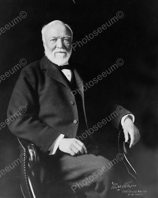 A-Carnegie 1910s Classic 8 by 10 Reprint Photograph