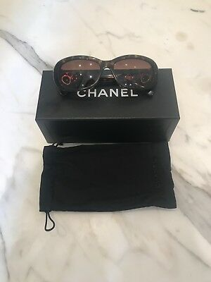 Brown Chanel Sunglasses With Box And Bag Genuine