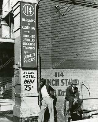 Atlas Hotel Beds 25 Cents Classic 8 by 10 Reprint Photograph