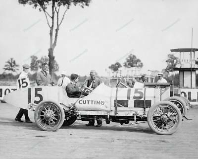 Auto Races Benning Md Cutting 1916 Classic 8 by 10 Reprint Photograph