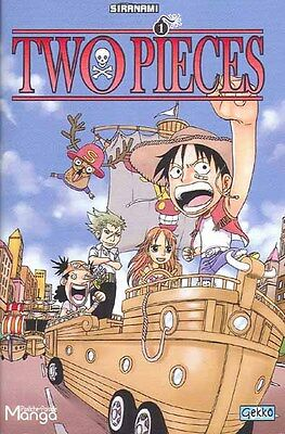 TWO PIECE tome 1 SIRANAMI parodie ONE PIECE manga