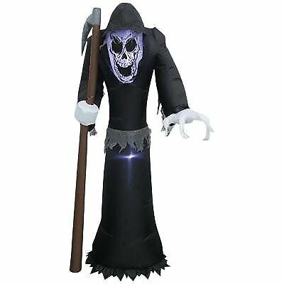 Inflatable Airblown 5 Ft LED Reaper - Indoor/outdoor