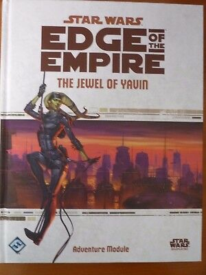 STAR WARS - Edge of the Empire: The Jewel of Yavin (Neuware. HC) Sourcebook