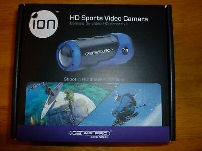 ION Air Pro Wifi 1080P HD Sports Video Camera Waterproof -NEW