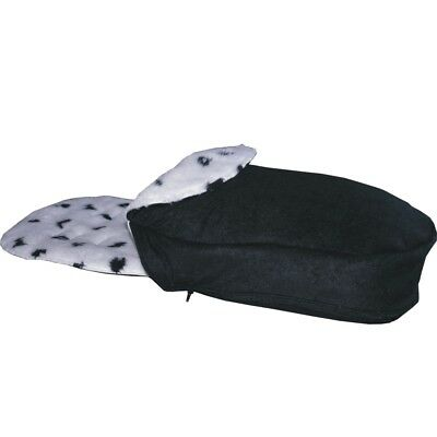 Fur Footmuff Hand Tailored to fit Silver Cross Pop, Reflex or Zest - Dalmation