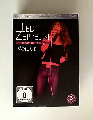 LED ZEPPELIN 3DVD Box Set  Maestros from the Vaults -  Music in Review  Volume 1
