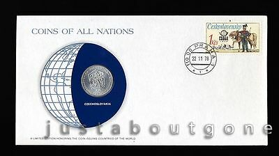 Lot179 Fdc Unc ─ Coins Of All Nations Uncirculated Stamp Cover