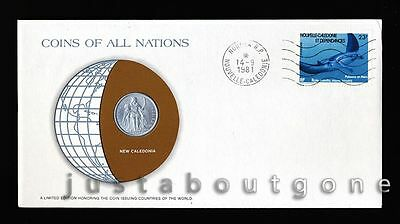 Lot142 Fdc Unc ─ Coins Of All Nations Uncirculated Stamp Cover