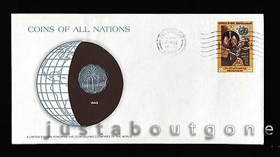 Lot159 Fdc Unc ─ Coins Of All Nations Uncirculated Stamp Cover