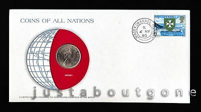 Lot175 Fdc Unc ─ Coins Of All Nations Uncirculated Stamp Cover