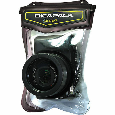 Waterproof case Dicapac WP-570 for compact cameras