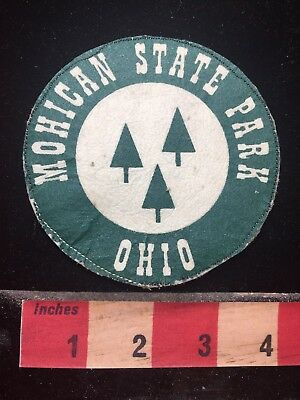Vtg MOHICAN STATE PARK Ohio Patch 77P5